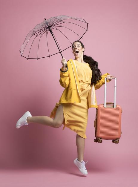 paraguas equipaje de mano